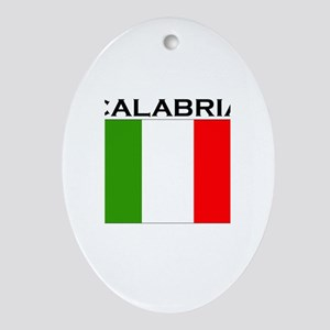 Calabria, Italy Oval Ornament