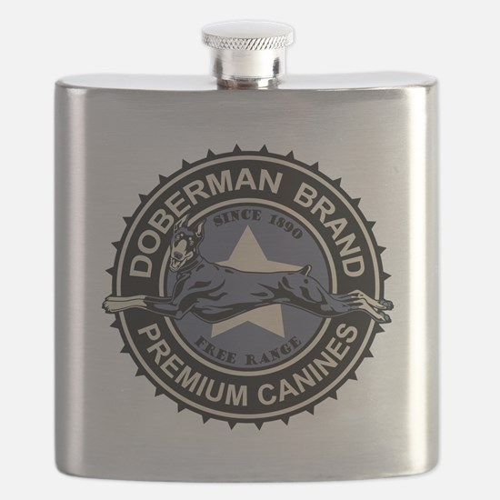 Doberman Brand Flask