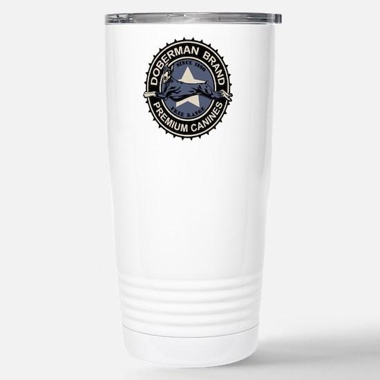 Doberman Brand Stainless Steel Travel Mug