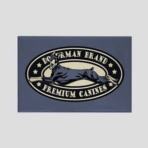 Doberman Brand Rectangle Magnet