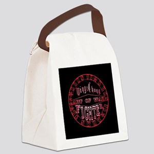 wing chun art of war Canvas Lunch Bag