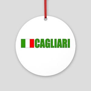 Cagliari, Italy Ornament (Round)