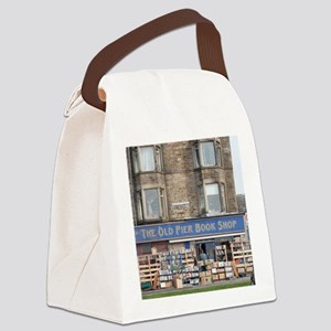 Exterior of the Old Pier Bookshop Canvas Lunch Bag