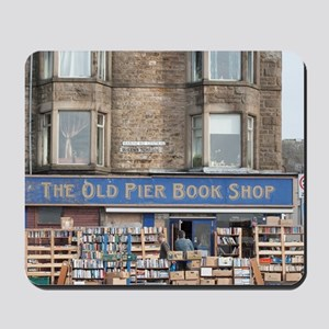 Exterior of the Old Pier Bookshop Mousepad