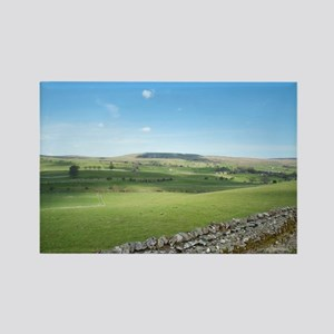 Yorkshire Dales near Wensleydale Rectangle Magnet
