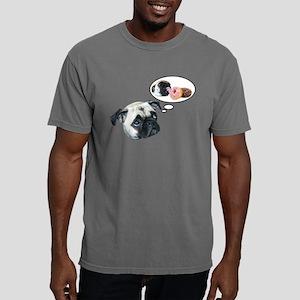 Mens Color Donut Pug T-Shirt