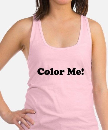 Color Me! Racerback Tank Top