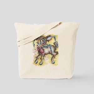 deer valentine, i give you my heart Tote Bag