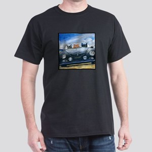 Kibbles Steals A Porsche Dark T-Shirt