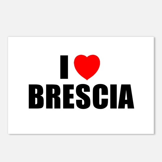 I Love Brescia, Italy  Postcards (Package of 8)