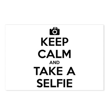 Keep Calm and Take a Selfie Postcards (Package of