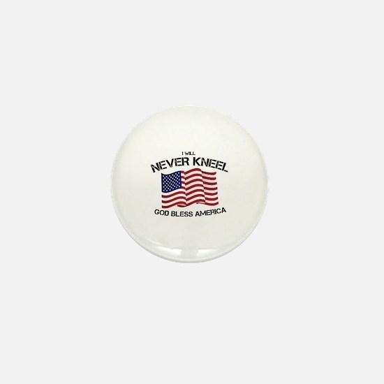 Unique Patriot Mini Button