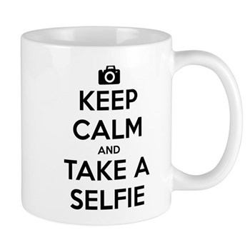 Keep Calm and Take a Selfie Mug