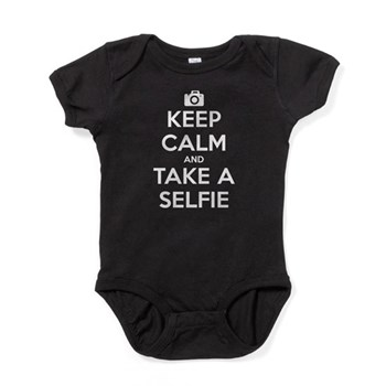 Keep Calm and Take a Selfie Baby Bodysuit
