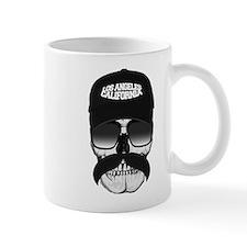Skull and mustache Mugs