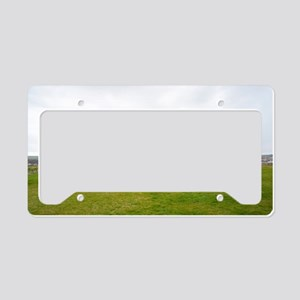 Ruins of Whitbt Abbey License Plate Holder