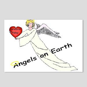 Cp Angel On Earth.jpg Postcards (package Of 8)