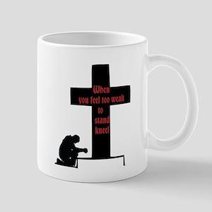 prayer is power Mugs