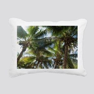 Coconuts and coconut pal Rectangular Canvas Pillow