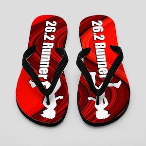 Running 26.2 Flip Flops