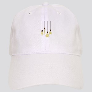Vintage Light Bulbs Baseball Cap
