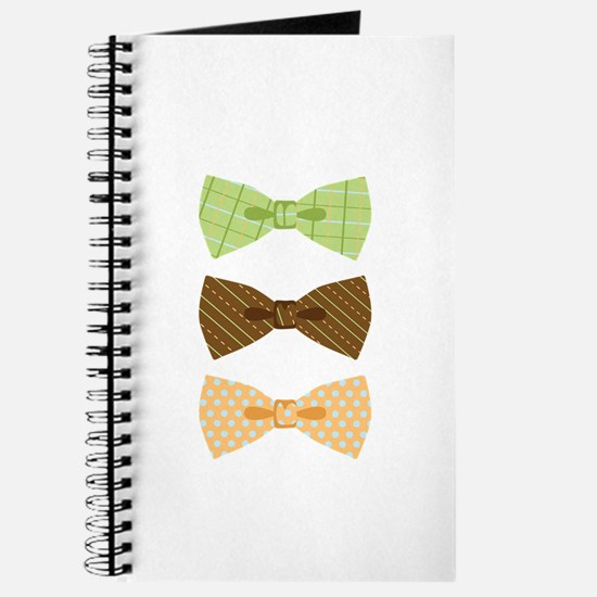 Colored Bowtie Clothing Journal