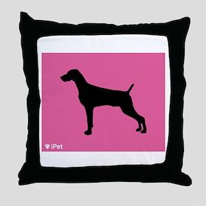 Weimaraner iPet Throw Pillow