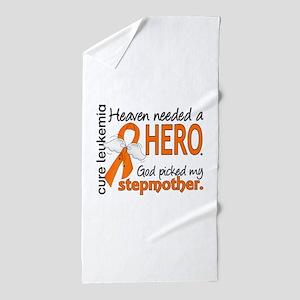Leukemia Heaven Needed Hero Beach Towel