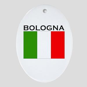 Bologna, Italy Oval Ornament