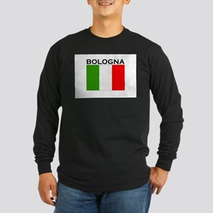 Bologna, Italy Long Sleeve Dark T-Shirt