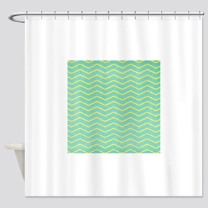 hg-chevronpaper-1 Shower Curtain