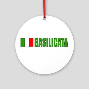 Basilicata, Italy Ornament (Round)