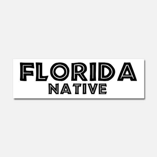 Cute Florida native Car Magnet 10 x 3
