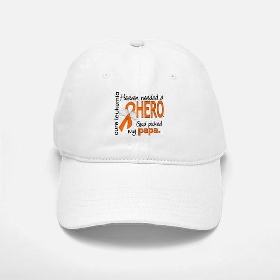 Leukemia Heaven Needed Hero Baseball Baseball Cap
