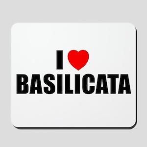 I Love Basilicata, Italy Mousepad
