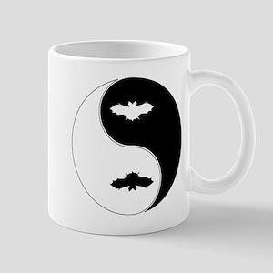 Yin Yang Bat Symbol Mug