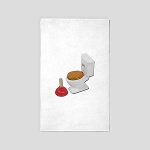 ToiletLargePlunger051411 Area Rug