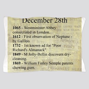 December 28th Pillow Case