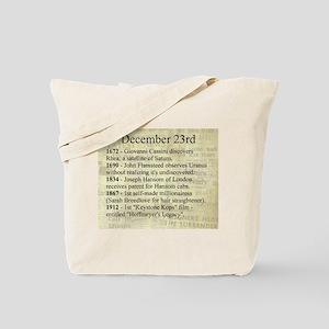 December 23rd Tote Bag