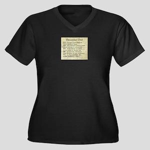 December 23rd Plus Size T-Shirt