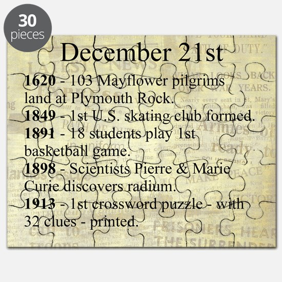 December 21st Puzzle
