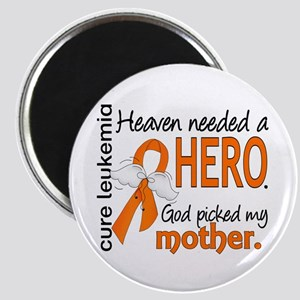 Leukemia Heaven Needed Hero Magnet