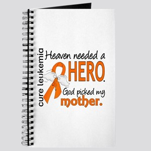 Leukemia Heaven Needed Hero Journal