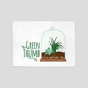 Green Thumb 5'x7'Area Rug