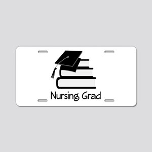 Nursing Grad Aluminum License Plate