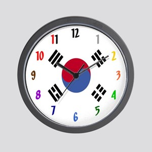 Taekwondo Wall Clock