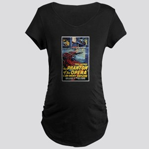 The Phantom Of The Opera Maternity Dark T-Shirt