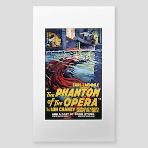 The Phantom Of The Opera Sticker (Rectangle)