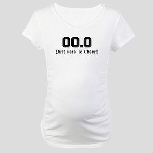 Here To Cheer Maternity T-Shirt