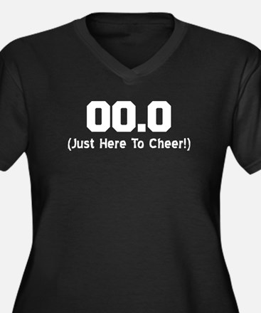 Here To Cheer Plus Size T-Shirt